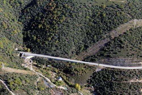 Vista aérea de Torres del Bierzo