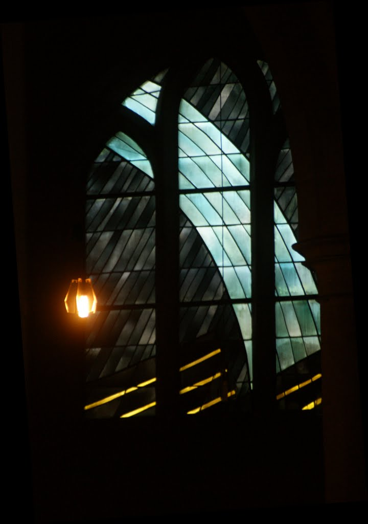 Tholey Abbey Window - Abtei Tholey Kirchenfenster