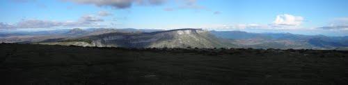 Panoramica hacía la Sierra Carbonilla desde Urieta