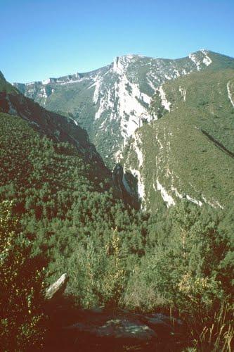 Von Nazarre zum Canyon-Eingang 1995