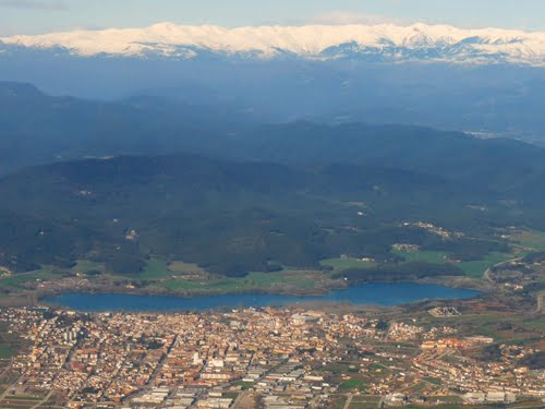 Aerial View of Banyoles