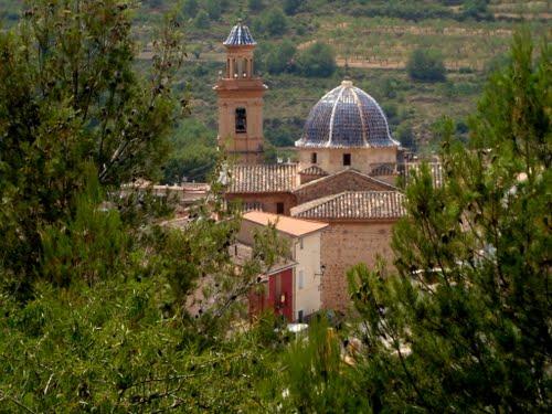 AZUÉBAR (castellón) iglesia de san mateo