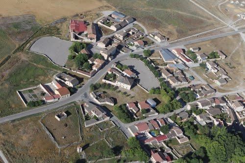 Vista aérea de Vegafría