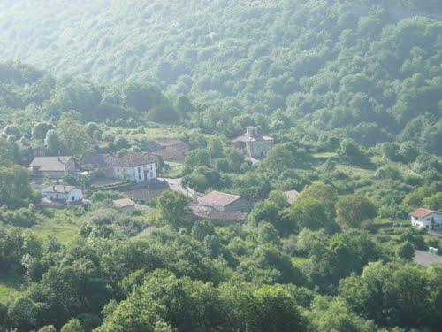 Musitu desde la Cruz de Legarda  ( Alava )