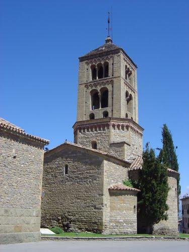 Església romànica de Santa Eugènia de Berga, Osona. Cat.