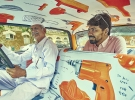 印度孟买的出租车