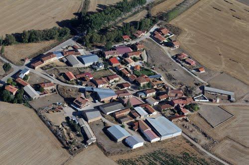Vista aérea de Buitrago