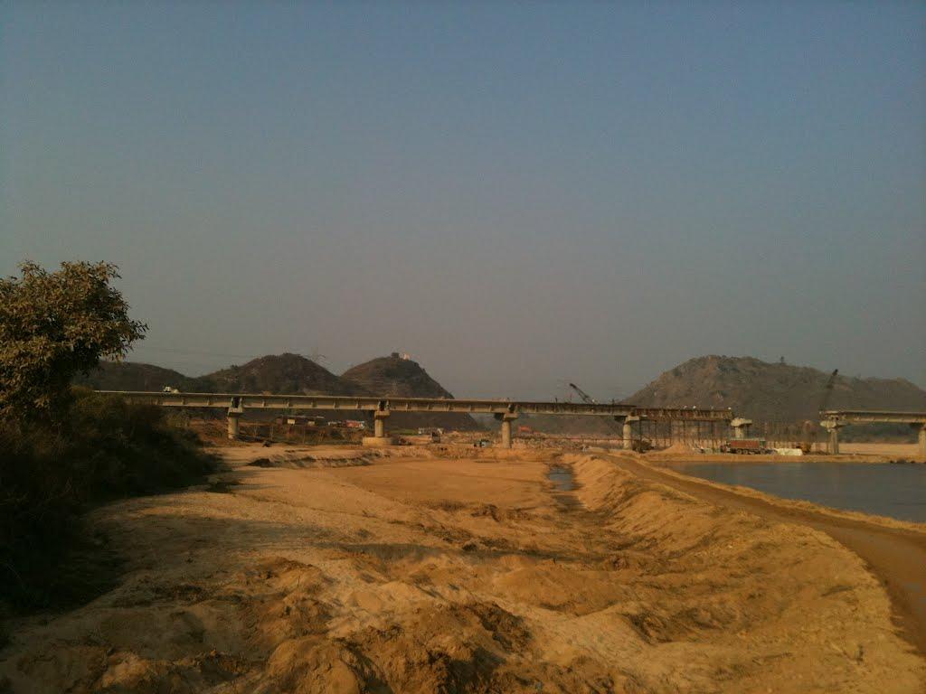Kanhar Bridge, January 2012