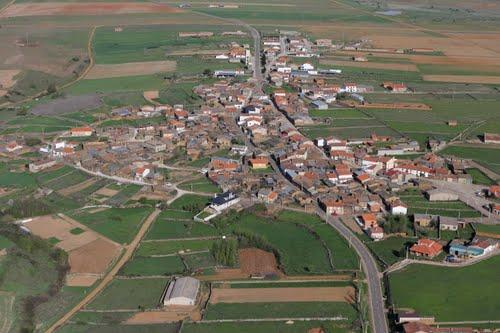 Vista aérea de Muga de Alba