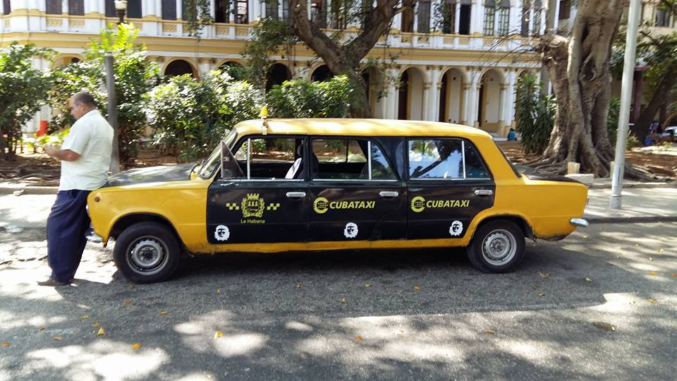 Kuba Havana taksi