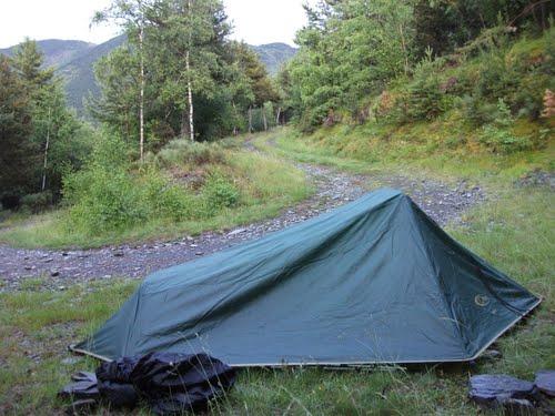 Camping beside Pista