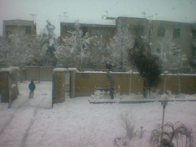 برف سنگین اون سال