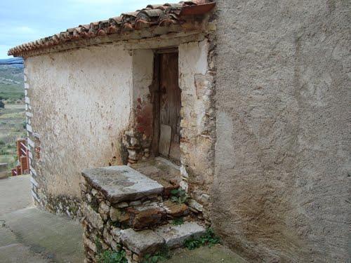 Carrer del Forn , Horno medieval, forn vell, Vilar de Canes, Castellón
