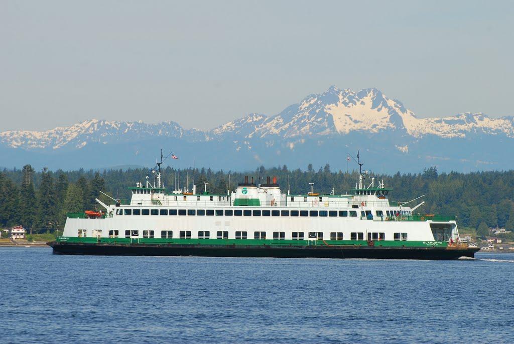 Washington State Ferry Klahowya on the Vashon Island to