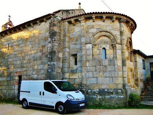 Capela de Santa María do Mosteiro - (Meis)