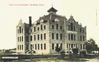 High School Building, Seymour, Texas 1908
