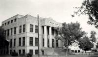 Briscoe County Courthouse, Silverton, Texas 1940s