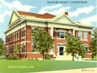 Oldham County Courthouse, Vega, Texas