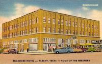 McLemore Hotel, Albany, Texas 1940s