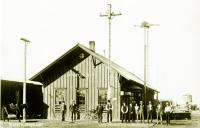 Railroad Depot, Canyon, Texas early 1900s