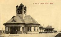 I & G. N. Depot, Mart, Texas early 1900s