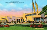 Livestock Building, Texas Centennial Exposition, Dallas, Texas 1936