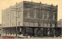 B. R. RInggold's Building, Crowell, Texas early 1900s