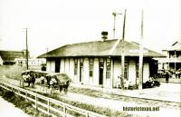 Depot, Sugar Land, Texas 1910s
