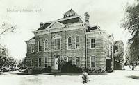 Throckmorton County Courthouse, Throckmorton, Texas 1910s