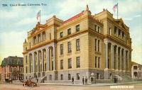 Galveston County Courthouse and Jail, Galveston, Texas early 1900s