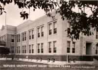 Refugio County Courthouse, Refugio, Texas 1940s