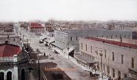 Birds Eye View, Ballinger, Texas early 1900s