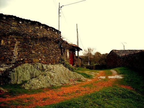 Zamarra y su paisaje agreste. Marzo de 2009
