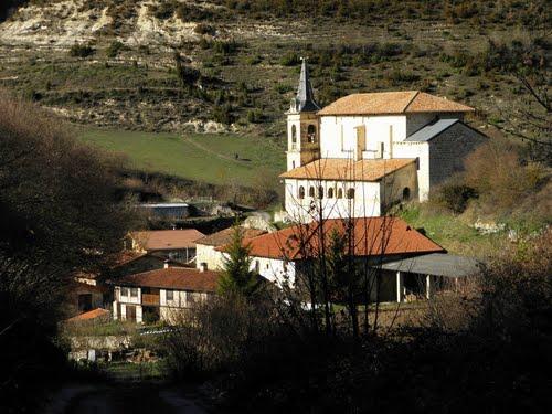 Iglesia de San Martín de Arlucea ( Alava )