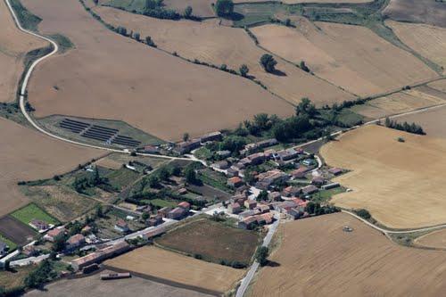 Vista aérea de Celada de la Torre