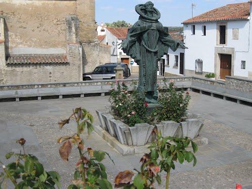Statue of San Pedro de Alcántara, Spain