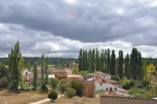 cascajosa, vista desde la iglesia