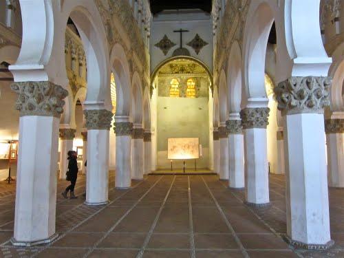 Sinagoga de Santa Mª la Blanca.