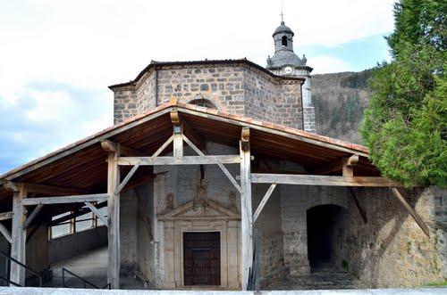 Iglesia de Beizama en Guipuzcoa