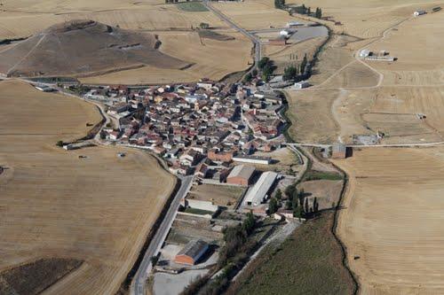 Vista aérea de Castrodeza