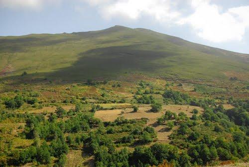 View from the Carretera Vilarmiel, Lugo