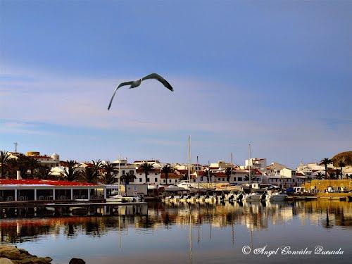 Puerto deportivo Fornells, Menorca.