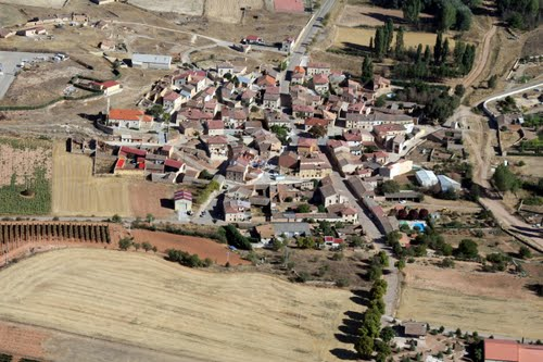 Vista aérea de Pardilla