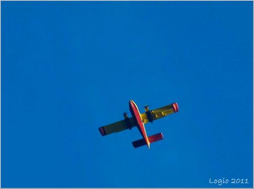 Volando cerca del parque natural Serra da Lastra
