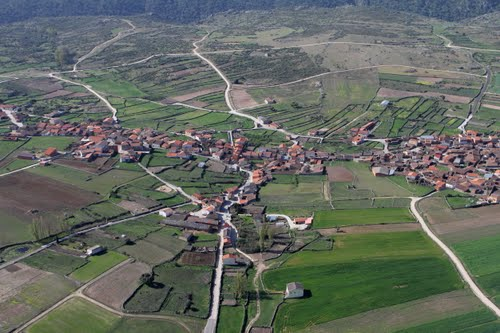 Vista aérea de Villaseco del Pan