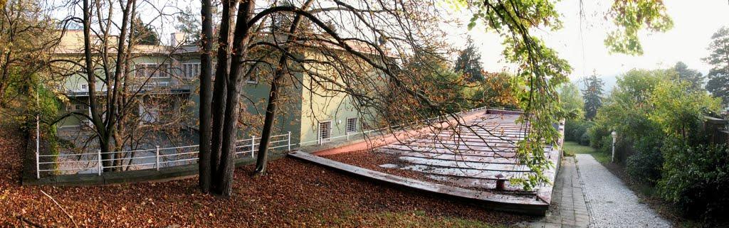 vila Stiassni /Ernst Wiesner, 1927-1929/ - panorama (22.10.2011)