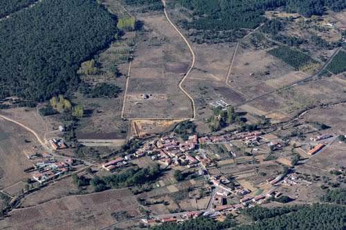 Vista aérea de Torneros de Jamuz