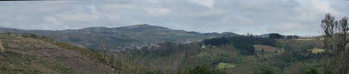 Panorama desde Queixeiro(Monfero)