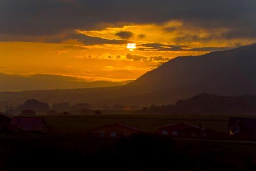 Amanecer en Marañon, Navarra