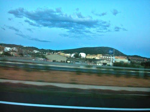 Cabanes-Vista desde la Autovía de la Plana